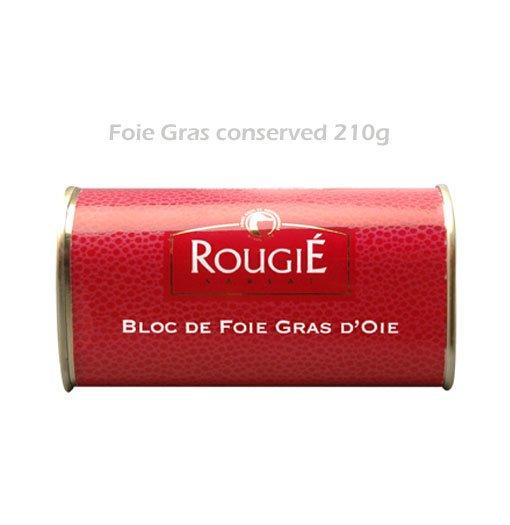 Preserved goose foie gras