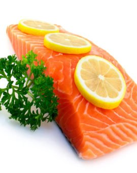 Fresh salmon fillet uk